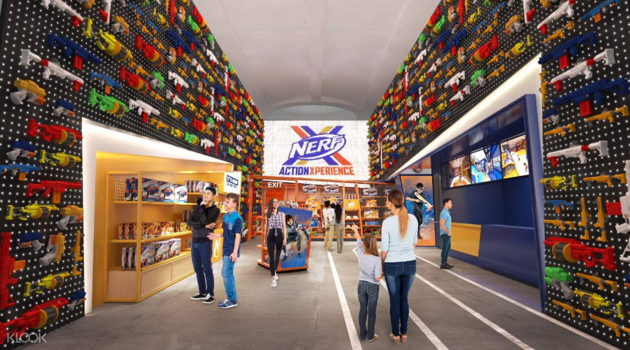 NERF Action Xperience entrance